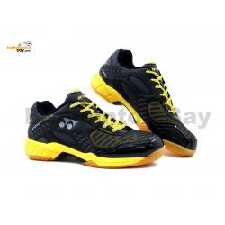 Yonex Hydro Force Black Yellow Badminton Shoes With Tru Cushion