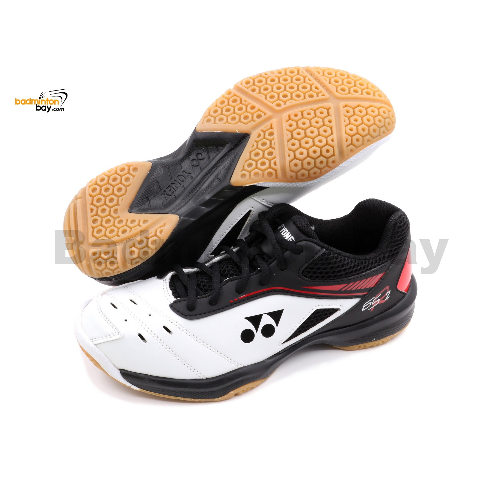 Yonex Cushion Power SHB-65R2 White Unisex Badminton Shoes (SHB-65R2) af68ecfcab915