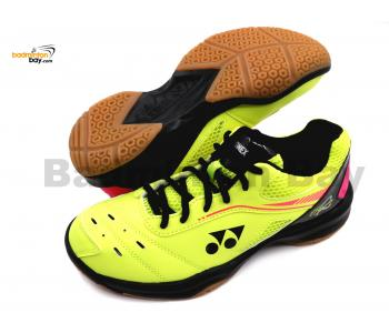 Yonex Cushion Power SHB-65R2 Yellow Unisex Badminton Shoes (SHB-65R2)