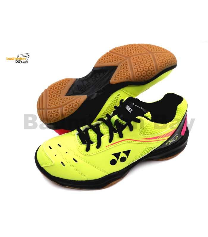 Yonex Cushion Power SHB-65R2 Yellow Unisex Badminton Shoes (SHB-65R2)