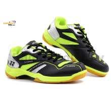 Yonex SRCR CFM Black Lime Badminton Shoes With Tru Cushion