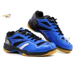 Yonex SRCR CFM Blue Black Badminton Shoes With Tru Cushion