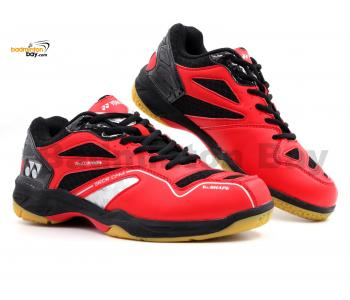 Yonex SRCR CFM Red Black Badminton Shoes With Tru Cushion