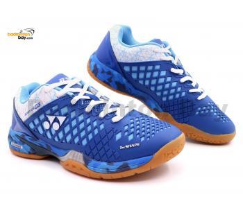 Yonex Super Ace 03 Blue Badminton Shoes With Tru Cushion