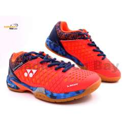 Yonex Super Ace 03 Coral Red Badminton Shoes With Tru Cushion