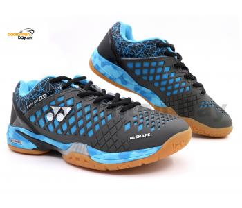 Yonex Super Ace 03 Grey Blue Badminton Shoes With Tru Cushion