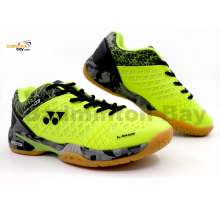 Yonex Super Ace 03 Lime Yellow Badminton Shoes With Tru Cushion