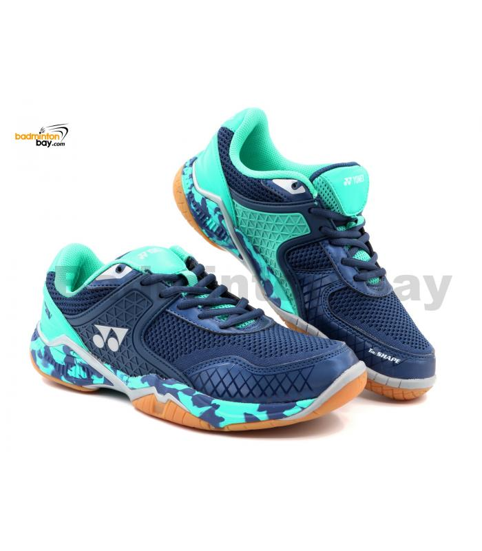 Yonex Super Ace V Dark Blue Indoor Badminton Court Sports Shoes With Tru Cushion