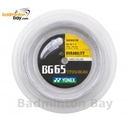 200m Reel Coil Yonex BG65Ti (0.70mm) Badminton String Made in Japan
