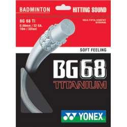 Yonex BG68 Titanium  Badminton String (BG68Ti)