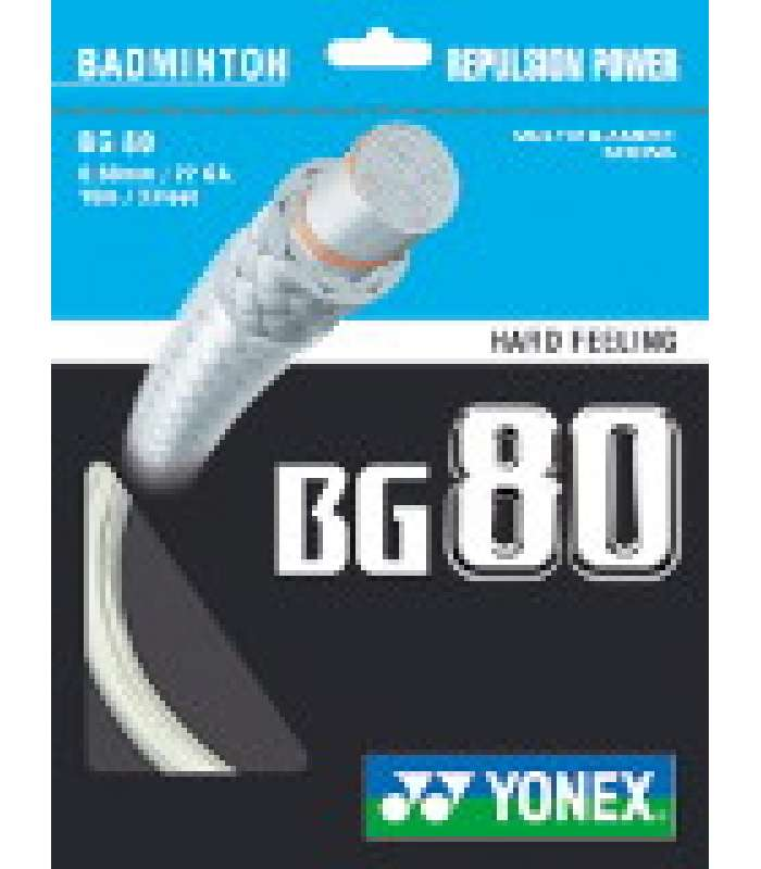 ~Out of stock Yonex BG80 Badminton String