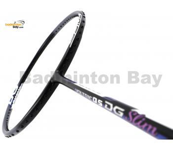 Yonex Voltric 0.5DG Slim Black Grey Durable Grade Badminton Racket VT05DGSLEX (4U-G5)